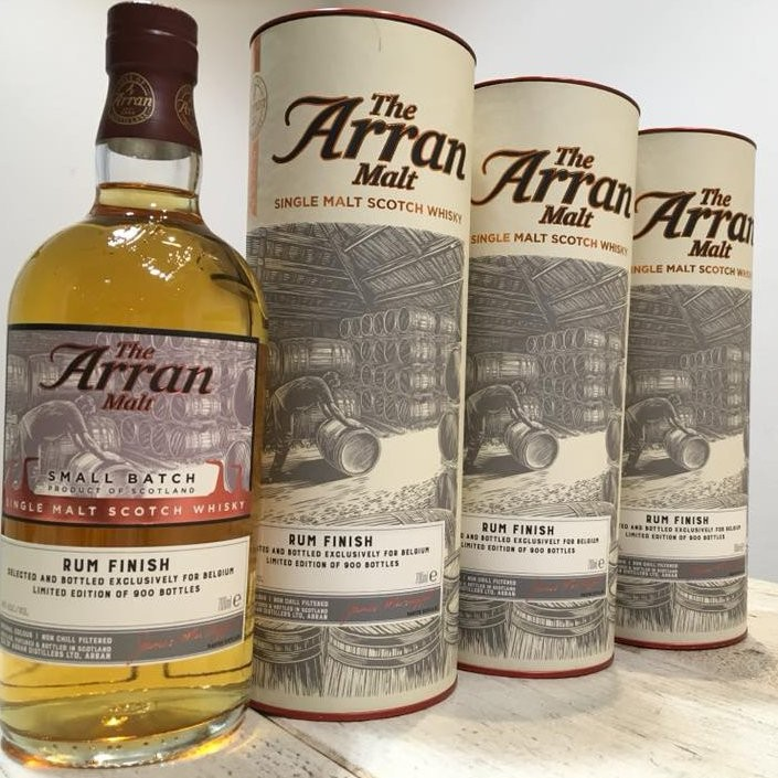 Whiskey van de maand: The Arran Malt Small Batch Rum Finish